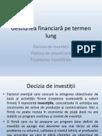 Curs Decizia de Investitii - FIF