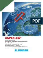 Acoplamiento Flender Zapex -Nuevo