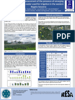 Preliminary assessment of the presence of emerging pollutants in water used for irrigation in the western Bogota Savanna.pptx