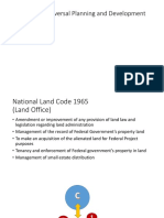 Total Planning Doctrine