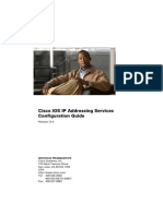 Cisco IOS Ip Addressing Services Cofiguration Guide