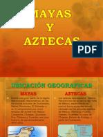 Martina Mayas y Aztecas