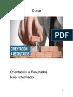 Guía de Estudio Orientación a Resultados (Nivel Intermedio)