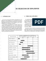12_Criterios de Seleccion de Explosivos