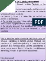 El Proceso Civil en El Derecho Romano