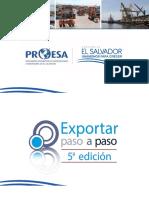 Exportar Paso a Paso Proesa