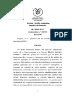 Condenan a 14 años 7 meses de cárcel a gobernador del Amazonas por corrupción