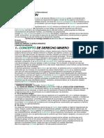 Manual de Derecho Minero e Hidrocarburos