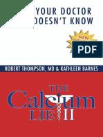 Robert Thompson- The Calcium Lie