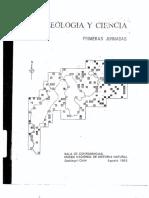 Arqueología y ciencia Luis Guillermo Lumbreras