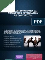 Herramientas Para La Resolución Alternativa de Conflictos (2)
