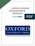 Tutorial Activar Licencias Digitales
