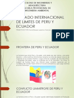 Tratado Internacional de Limites de Peru y Ecuador