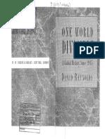 Reynolds, David_One World divisible (Capítulos 2, 3, 4, 7 y 8).pdf