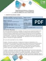 Syllabus Del Curso de Valoracion Economica Del Ambiente