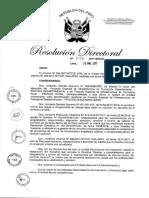 Directiva Rendicion de Viaticos Mtc 2017
