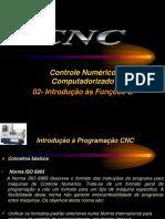 Aulas 02 - CNC- Introdução Às Funções G