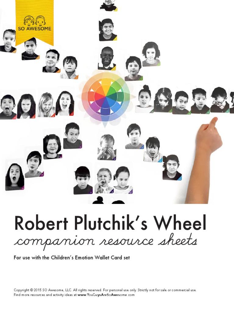 Emotions Wheel Children Emotions Self Improvement