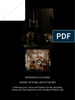 Gospel of Dark Aeon Fascism (by ''Satanic Orthodoxy'')