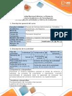 Guía de Actividades y Rubrica de Evaluacion - Tarea 3 - Identificar Los Principales Aspectos Del Mercadeo Internacional y de La Distribucion Fisica Internacional.