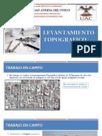 EXPOSICION LEVANTAMIENTO TOPOGRAFICO