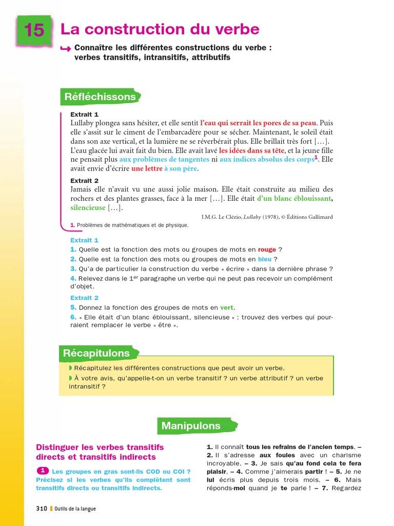 9782210166547 P310 313 Pdf Syntaxe Style Fiction