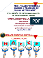 2 Evaluación de Programas Haccp La Propuesta Del Inppaz