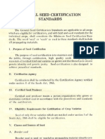 General Seed Certification Standards
