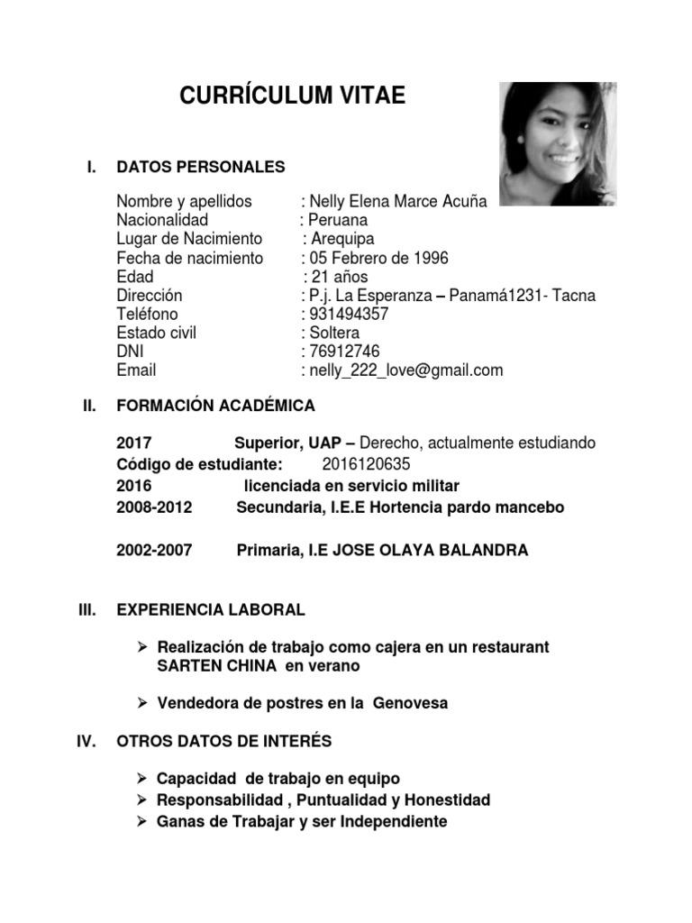 Moderno Constructor De Currículum Militar Galería - Ejemplo De ...
