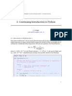 Notes Python2