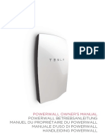 Powerwall 1 Owners Manual