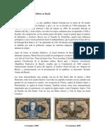 Proceso Histórico de Los Billetes en Brasil