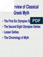 An Overview of Classical Greek Myth