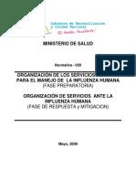 N 020 OrganizacionSSenInfluenzaHumana.6843