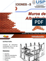 Muros de Albañileria Parte 01