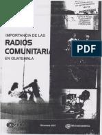 Radios Comunitarias en Guatemala (1)0