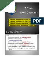 1º Prova 100_ Questões