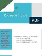 Control de Lectura - Robinson Crusoe