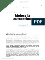 Autoestima ⋆ WebPsicólogos