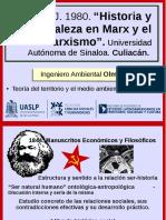 Hitoria y Naturaleza en Max y el Marxismo