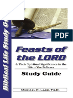 Feasts of the LORD Study Guide