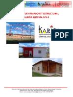 Manual de Armado Kit Estructural Kariña Sistema Sck-ultimo