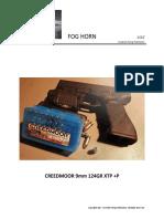 CREEDMOOR 9mm 124GR XTP +P