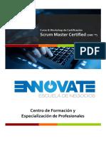 Brochure SCRUM MASTER Certified