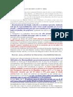 Análisis Sobre La Ley de Educación n28044