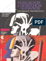 Educacion y Derechos Humanos. Una Discusion Interdiciplinaria