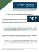 Jurisprudência Em Teses 79 - Entidades Da Administração Pública Indireta