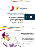 AEC and Healthcare Development (TTH 201704)