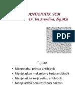 Antibiotik Tcm