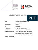 Industrial Training Report (Edit)